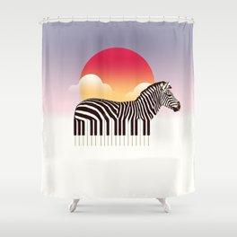 Zeyboard Shower Curtain
