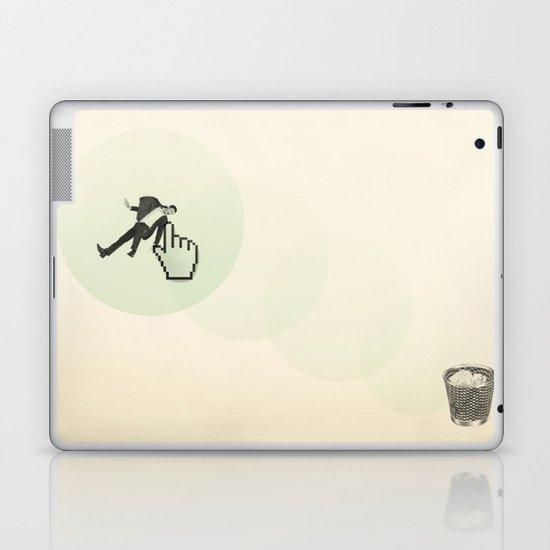 trash man Laptop & iPad Skin