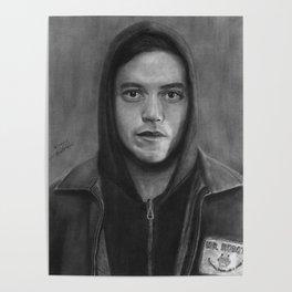 Elliot Alderson Poster
