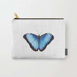 Morpho one big blue Butterfly Carry-All Pouch
