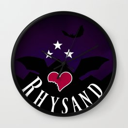Rhysand Wall Clock