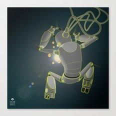 Quantum magic Canvas Print