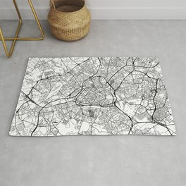 Lille Map Gray Rug