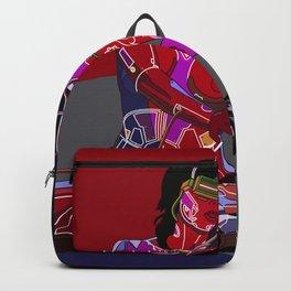 Jessica Biel 80s cyborg Backpack