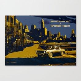 September Bullitt Canvas Print