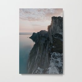 The Cliff - Landscape and Nature Photography Metal Print