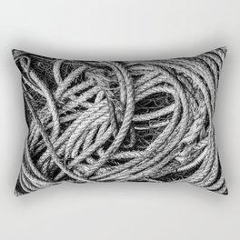 Coiled Rope Rectangular Pillow