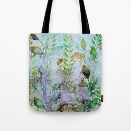 Leaves In The Mist Tote Bag