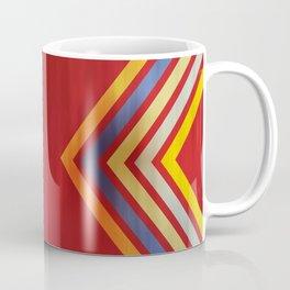 Stripes and Chevrons Ethic Pattern Coffee Mug