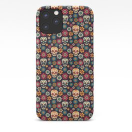 Day Of The Dead Pattern | Dia De Los Muertos Skull iPhone Case