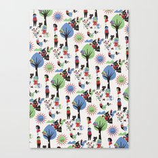 Beautiful day pattern Canvas Print