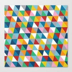Triangles 45 Canvas Print