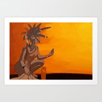 african Art Prints featuring  African by Prepress