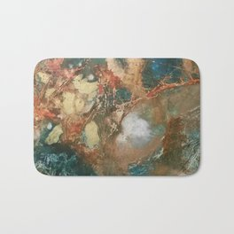 Copper Splash Bath Mat