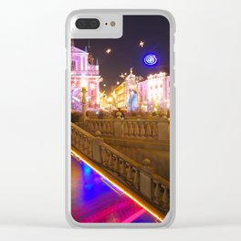 Ljubljana Lights Clear iPhone Case