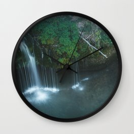 Natural Falls Wall Clock