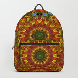 Abstract Spokes Backpack