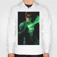 green lantern Hoodies featuring Green Lantern by Styleman D