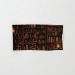Night library Hand & Bath Towel