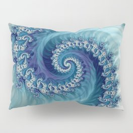 Sound of Seashell - Fractal Art Pillow Sham
