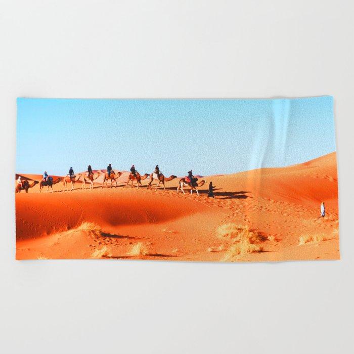 No Desert Heartbeats Beach Towel