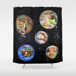 Modern Housewives Shower Curtain