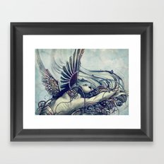 Zodiac Sign: Virgo Framed Art Print