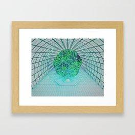 hydrogram Framed Art Print