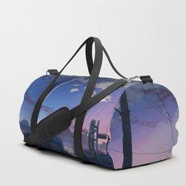 Beautiful Evening Town Scenery Ultra HD Duffle Bag