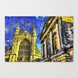 City Of Bath Vincent Van Gogh Canvas Print