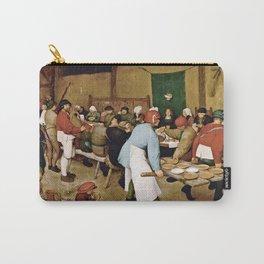 Pieter Bruegel The Elder - Peasant Wedding Carry-All Pouch