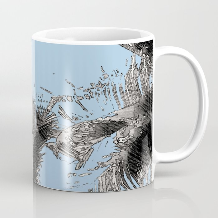 PURA VIDA SKY Coffee Mug by xchangestudio | Society6