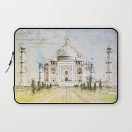 Taj Mahal, India Laptop Sleeve