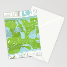 Totally Inaccurate Map of Gifford Pinchot State Park Stationery Cards