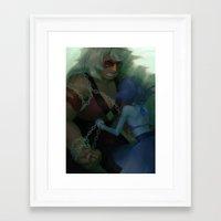 malachite Framed Art Prints featuring malachite by sleepysenshi