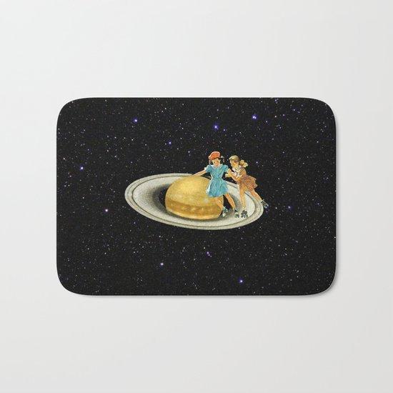 Stroll on Saturn Bath Mat