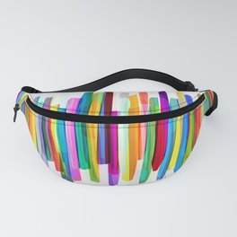 Colorful Stripes 1 Fanny Pack
