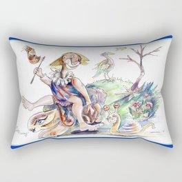 R.B.Sunday Outing Rectangular Pillow