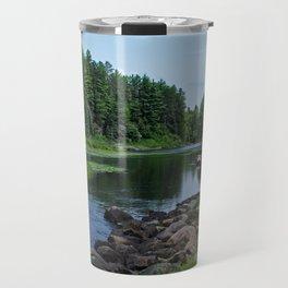 Boundary Waters River Travel Mug