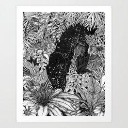 The Jungle At Night Art Print