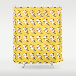 Spooky Shark Shower Curtain