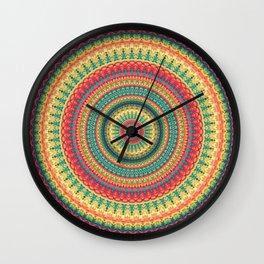 Mandala 138 Wall Clock