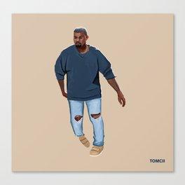 Blue Outfit Canvas Print