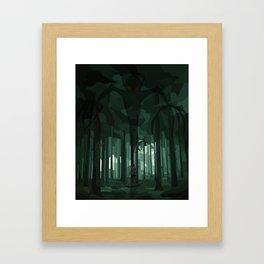 A World of Shadows Framed Art Print