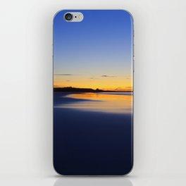 While I walked down to the beach iPhone Skin