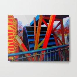 ironworks 2 Metal Print