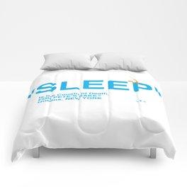"""""""SLEEP"""" Comforters"""