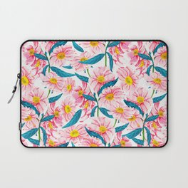 Pink Floral || Laptop Sleeve