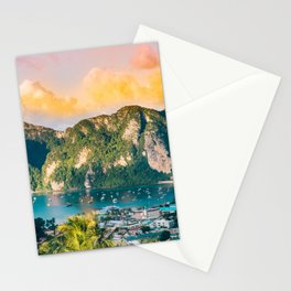 Phi Phi, Thailand #society6 #decor #buyart Stationery Cards