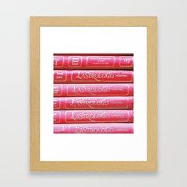 L' Astrologo Moderno Framed Art Print